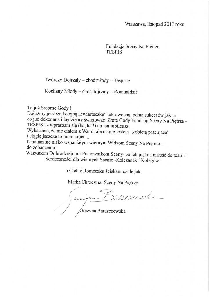 Fundacja_25lat_list_barszczewska