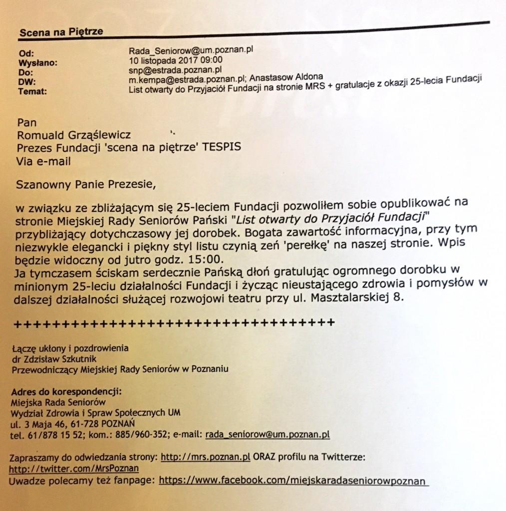 Fundacja_25lat_list_szkutnik