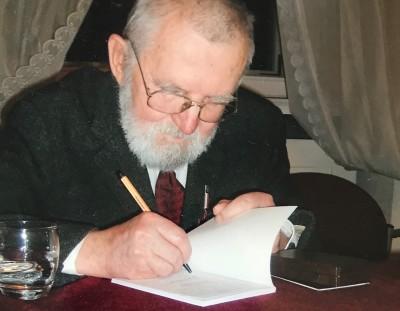 Żywiąc słowo. Janusz Sauer